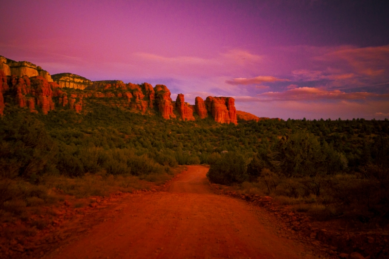 Sedona Rock Fomations
