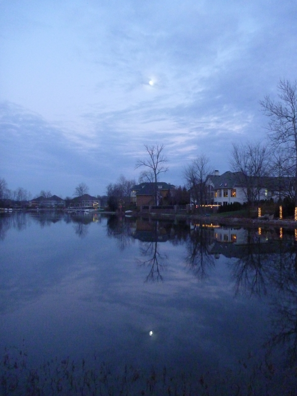 Reflections At Dusk