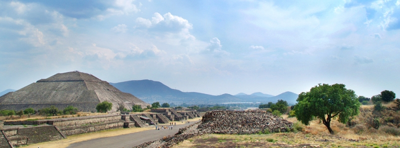 Piramides – Teotihuacan Mexico