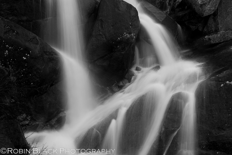 Detail, Seasonal Waterfall (tioga Road)