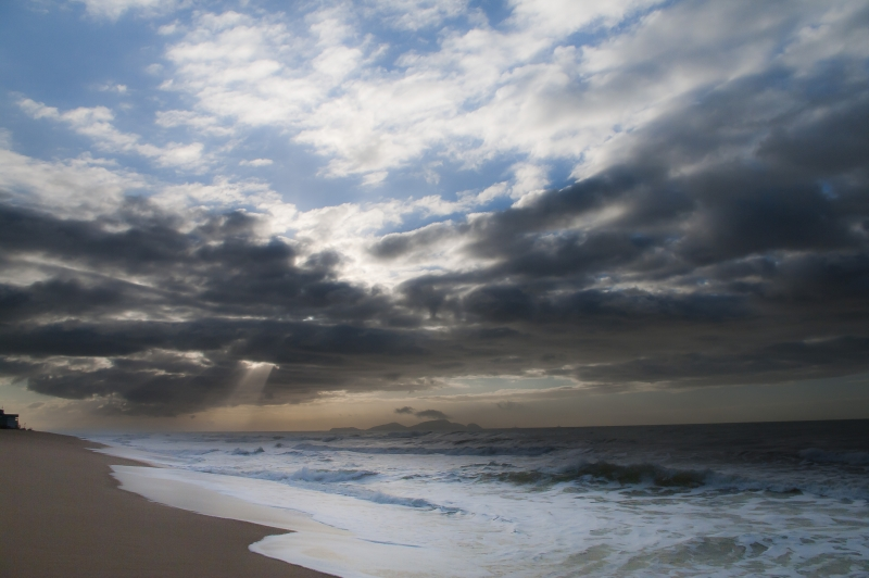 Praia Do Pecado, South Atlantic Ocean,