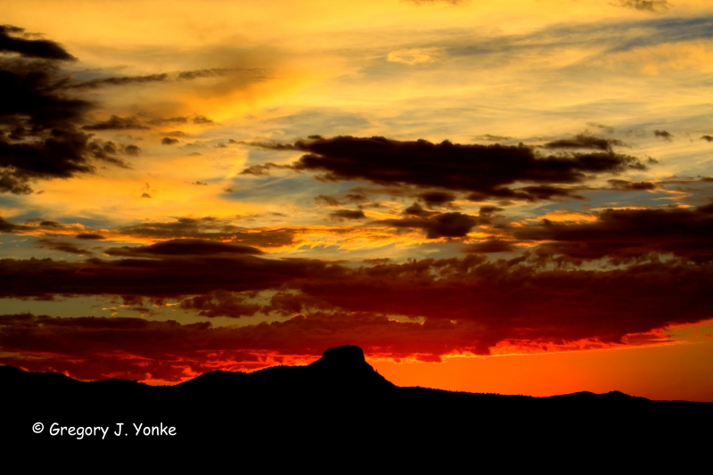 "Arizona Sunset – ""god Painted The Sky Tonight"""