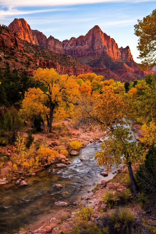 Zion Fall Color