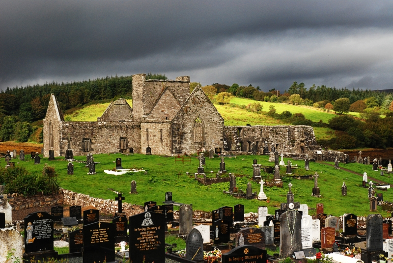 Burrishoole Abbey – County Mayo