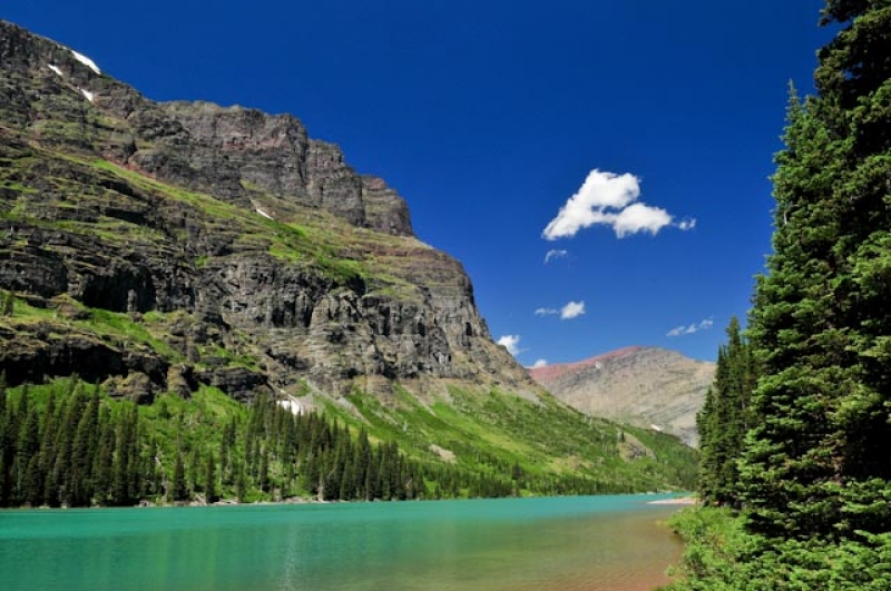 Lake Josephine, Glacier National Park