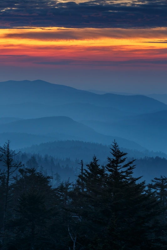 Clingman's Final Light 2012