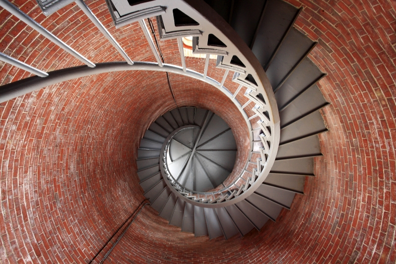 Spiral Staircase Portsmouth Light