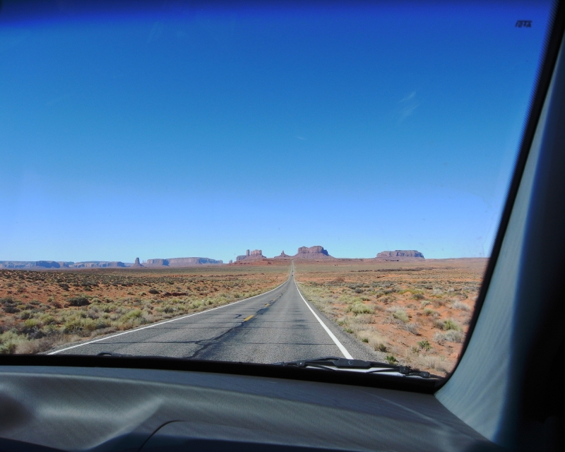 Monument Valley Up Ahead