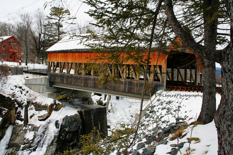 The Quechee Covered Bridge