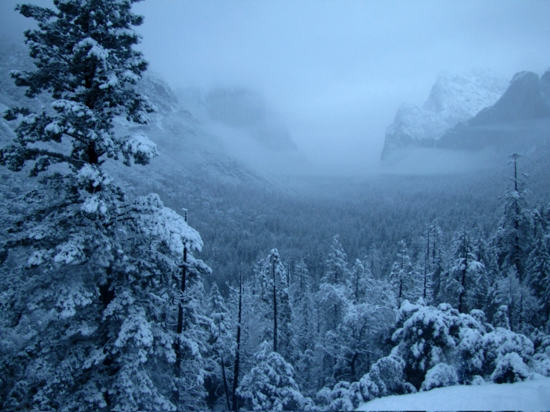 Winter Storm Over Tunnel View