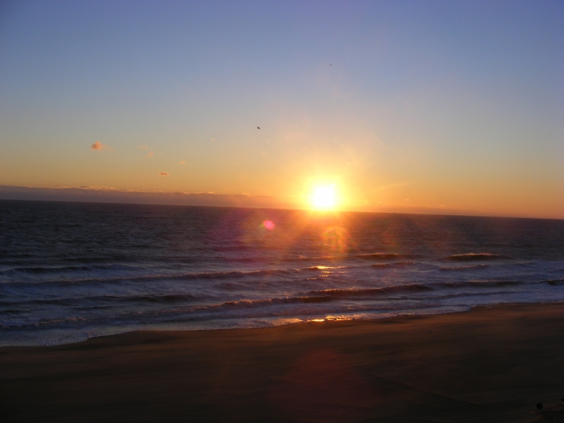 Sunset At Va Beach