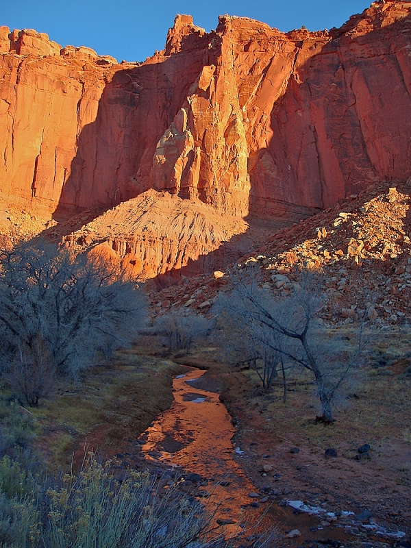 Frosty Capitol Reef Sunrise