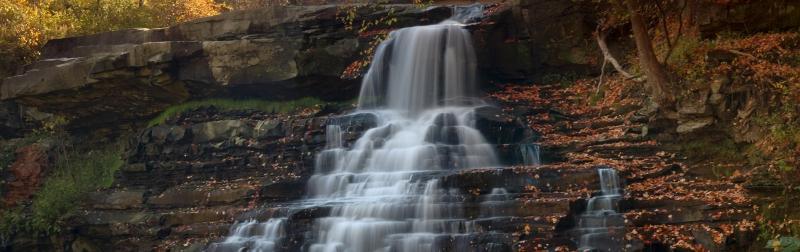 When Fall Arrives At Brandywine Falls