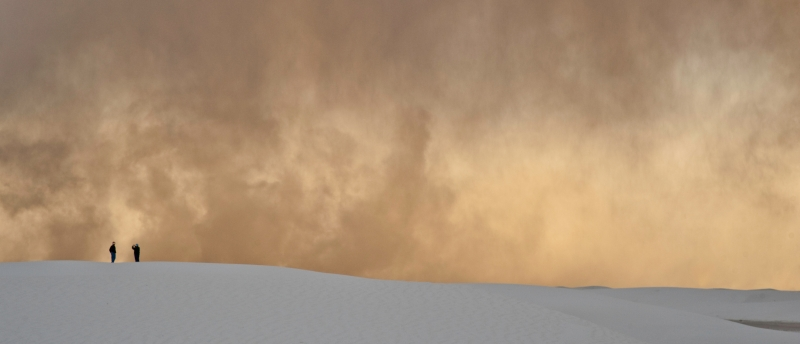 Storm At White Sands