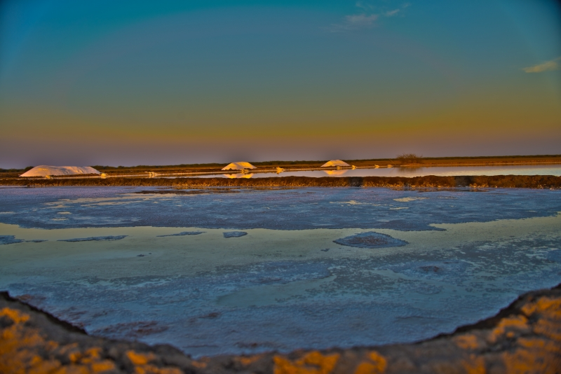 Salt Pan In Little Rann Of Kutch