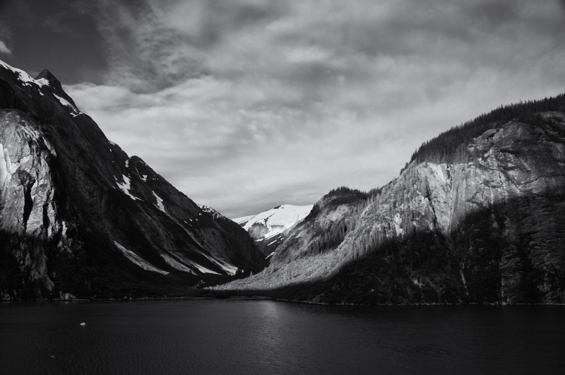 Tracy Arm Near Sawyer Glacier