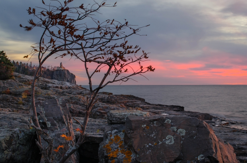 Sunrise At Split Rock