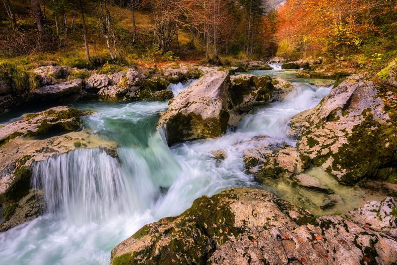 Fall Colors In Slovenia