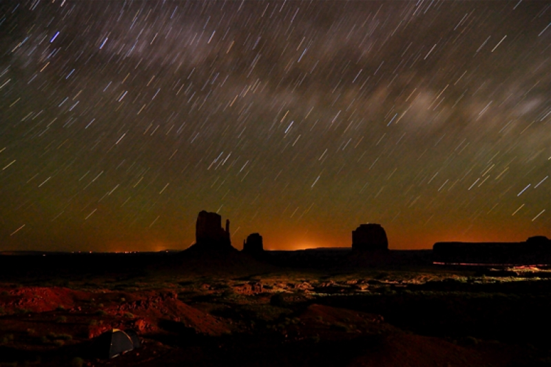 Monument Valley Nightscape