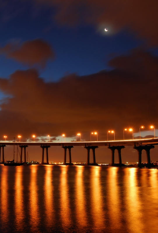 Coronado Bay Bridge Dawn