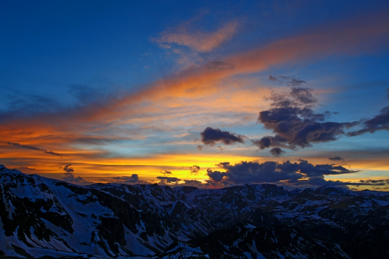 Beartooth Pass Sunset