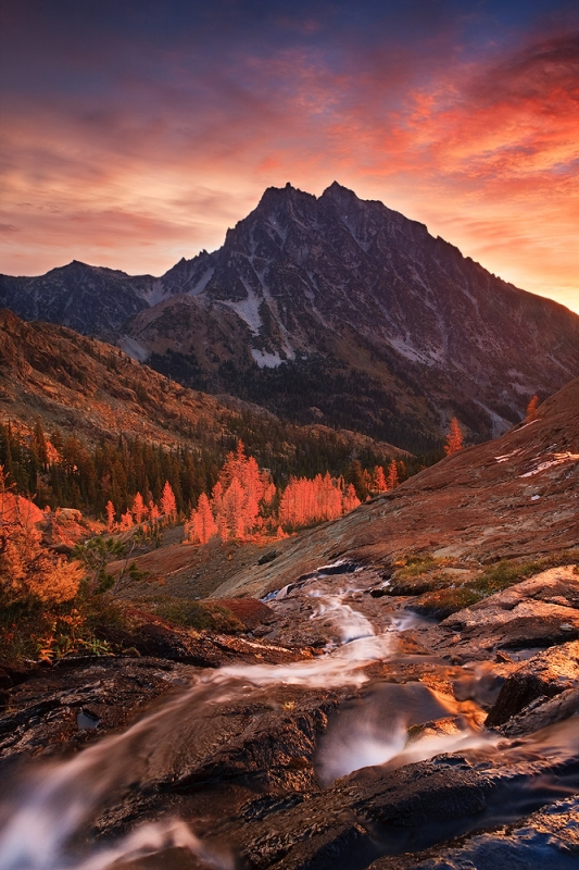 Autumn Light On Headlight Basin