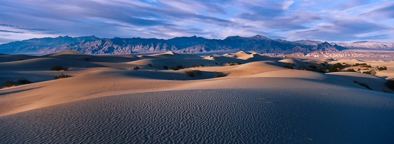 Mesquite Dunes – Death Valley