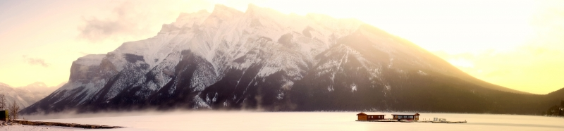 Lake Minnewanka Sunrise