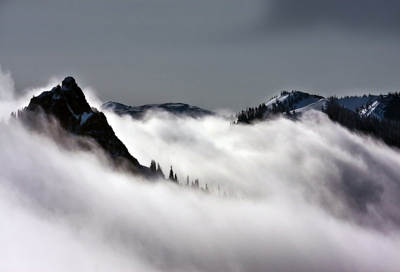 Mountain Clouds-olympic National Park