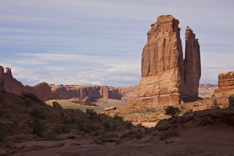 Courthouse Tower / Arches National Park