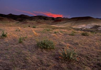 Painted Hills At John Day Fossil Beds