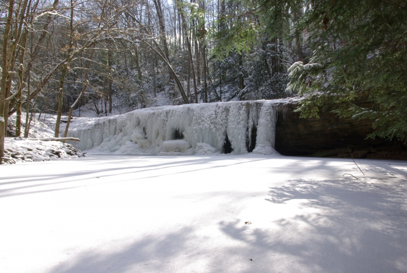Wintertime At Pricess Falls