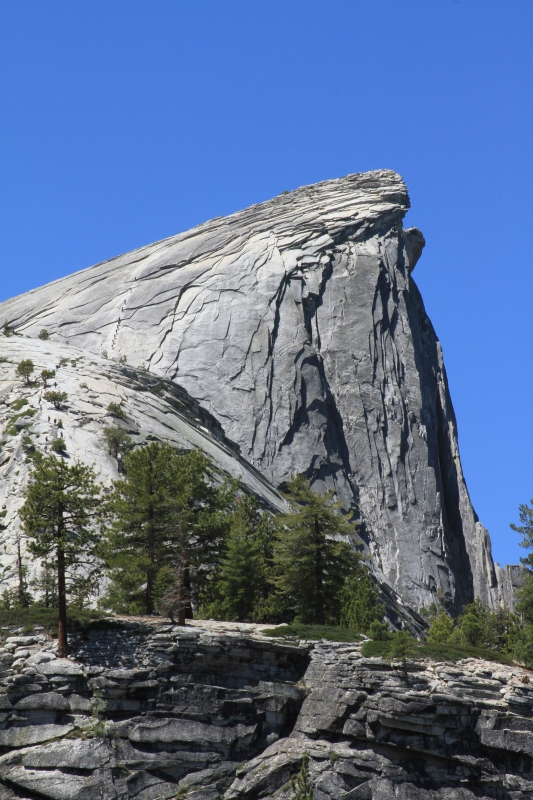 The Hike To The Top Of Half Dome