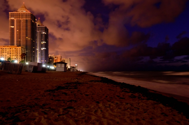 Miami Beach Before Sunrise