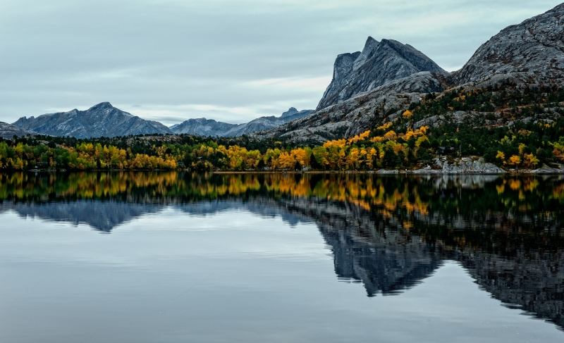 Fall In Northern Norway