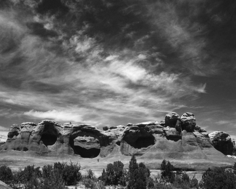 Skies Over Arches