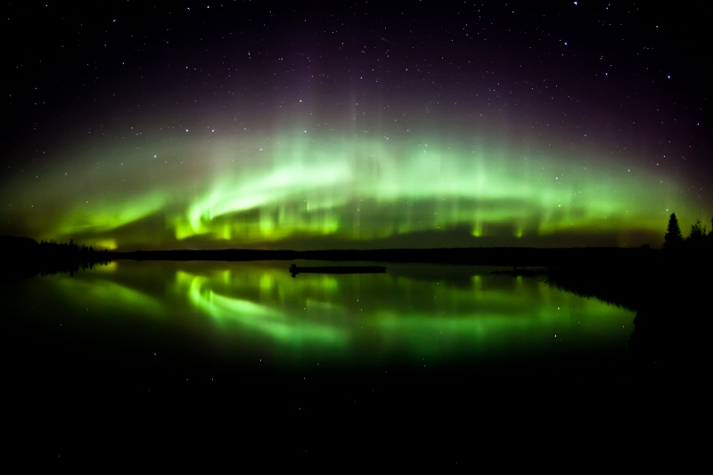Aurora Reflections.