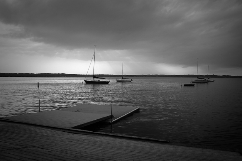 Storm At The Dock