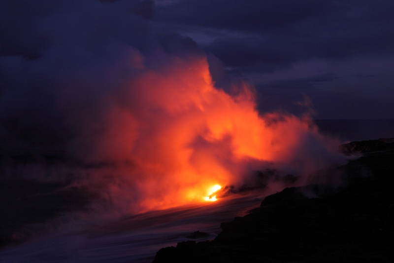 Fire Meets The Sea