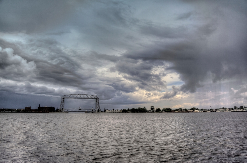 Thunderstorm Over Canal Park