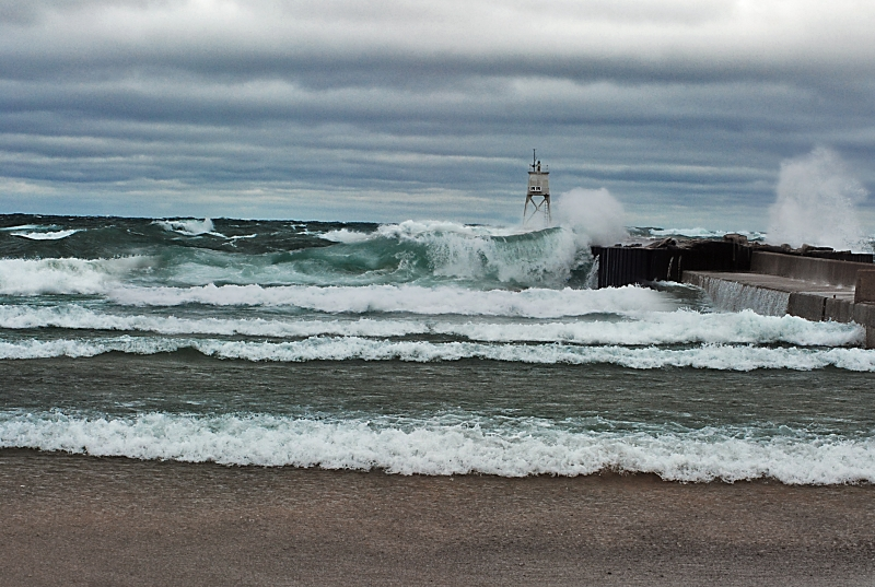 Storm On Lake Superior