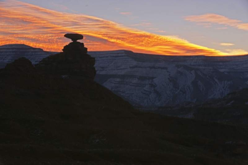 Mexican Hat Sunrise