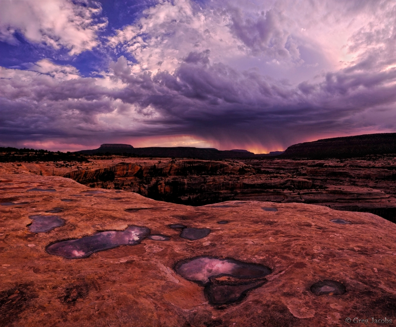 Storms Over White Canyon