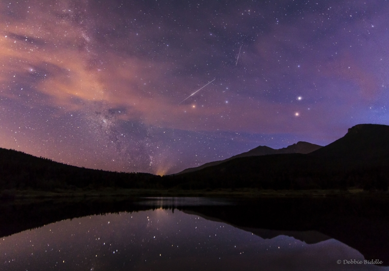 August Night At Lily Lake