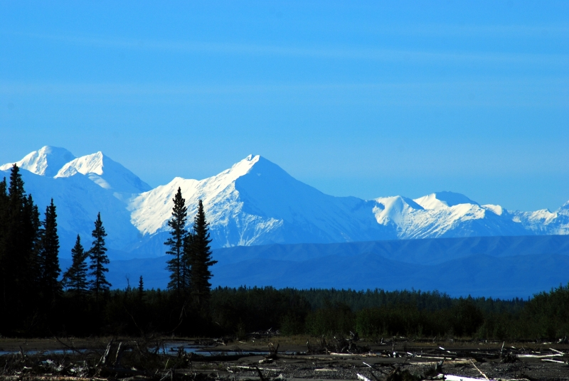 North Face Of Mt Mckinley