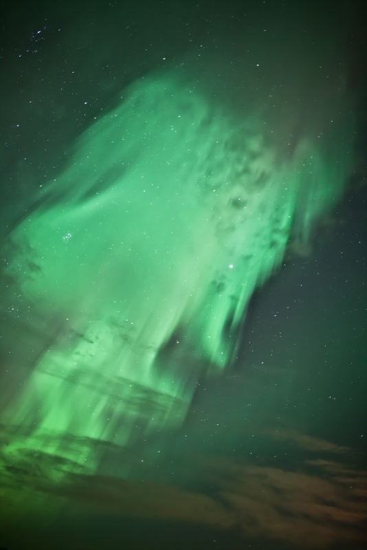 Ghostly Aurora.
