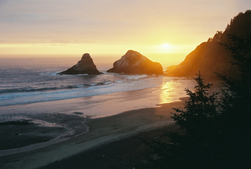 Devils Elbow & Heceta Head Lighthouse Sunset