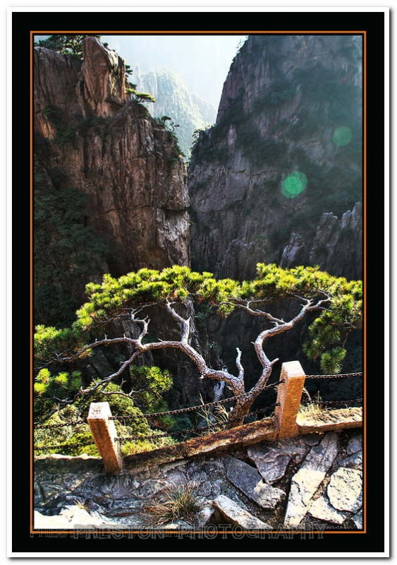 Sheer Cliffs Of Huangshan