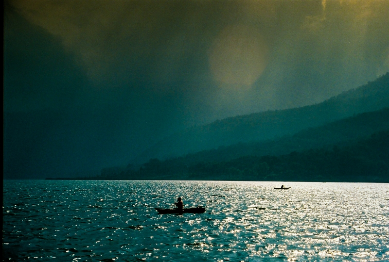 Fishermen On Lake Atitlan