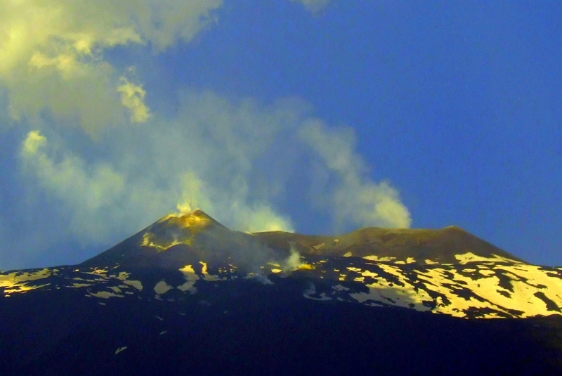 Smoky Mount Etna